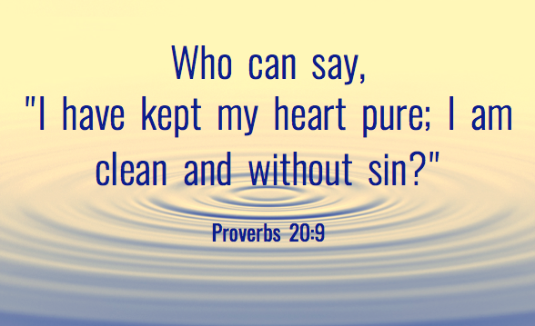 I HAVE KEPT MY HEART PURE