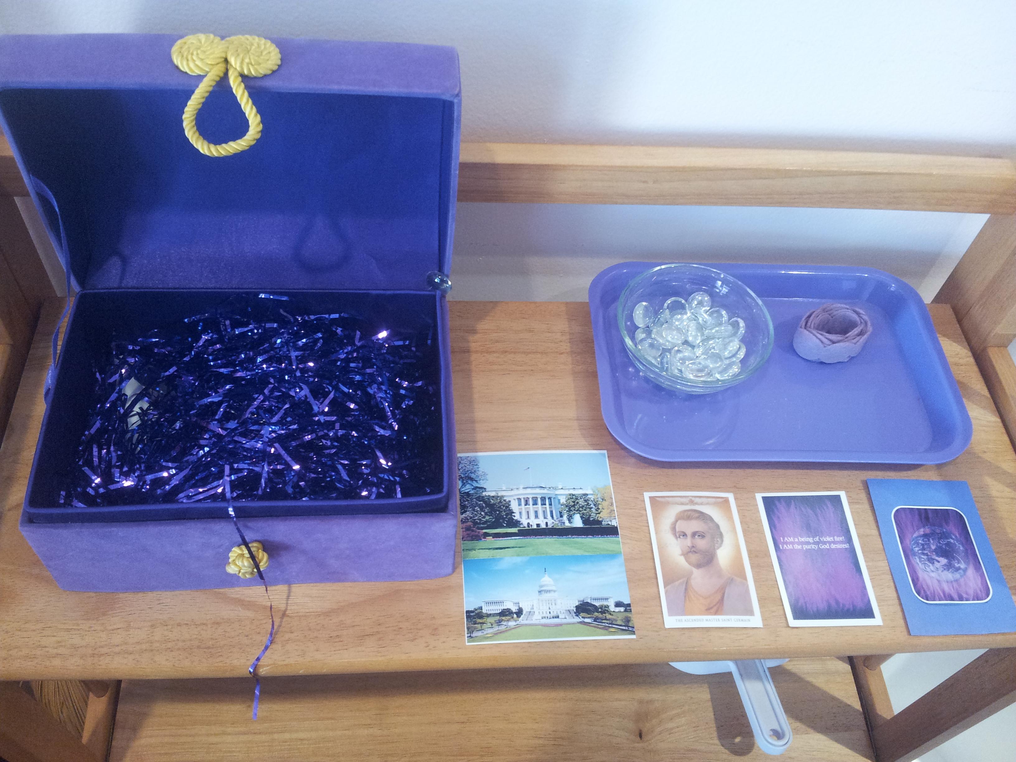 Children's Violet Flame Activity