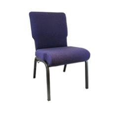 Revised Purple Church Chair