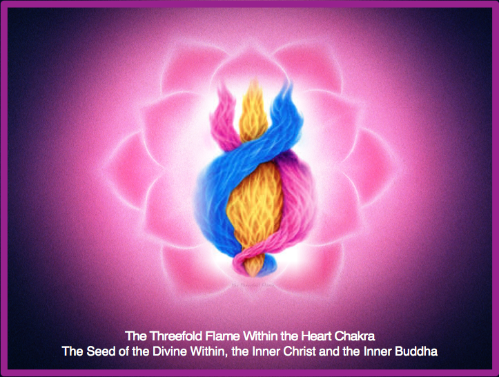 TSL_HEART CHAKRA and Threefold Flame